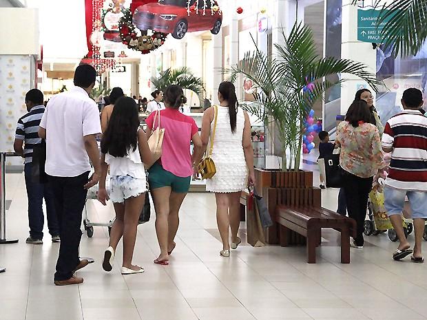 Shoppings seguem na preferência dos consumidores de São Luís (Foto: Biaman Prado / O Estado)