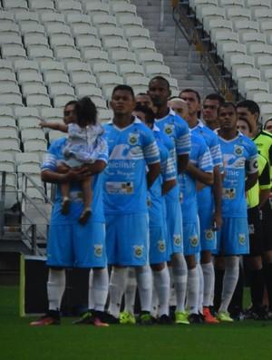 Ceará x Uniclinic Campeonato Cearense Arena Castelão (Foto: Eduardo Trovão/TV Verdes Mares)