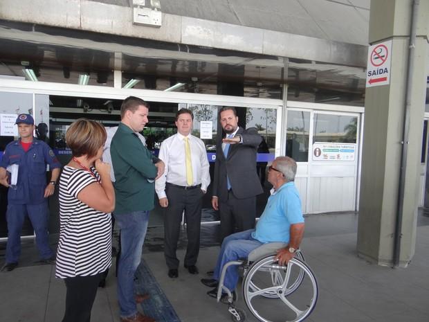 Para MP, rodoviária precisa de adequações de acessibilidade (Foto: Deter/Divulgação)