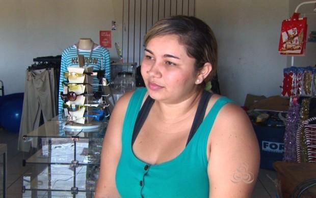 Paloma precisou de doação de sangue após sofrer acidente (Foto: Roraima TV)