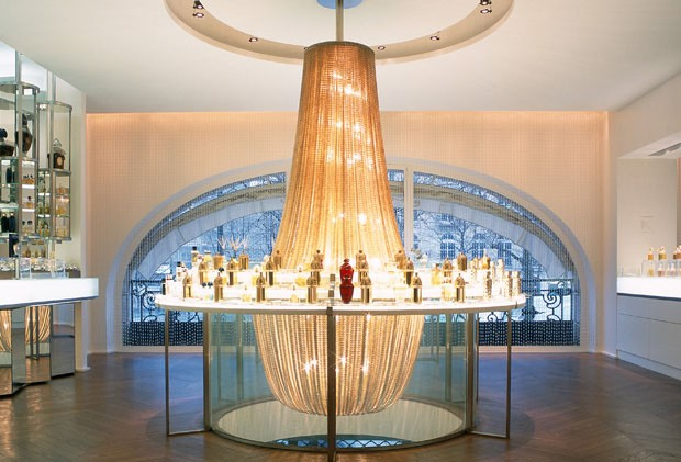 Boutique-spa Guerlain, em Paris, projeto de 2005 (Foto: divulgação)