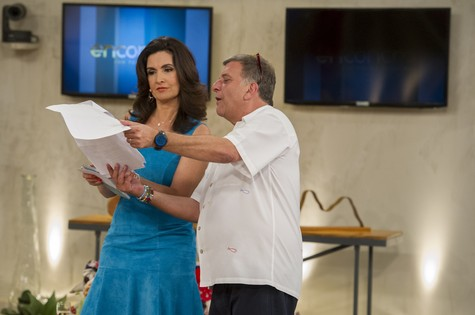 Fátima Bernardes e Jorge Fernando (Foto: Estevam Avellar/TV Globo)