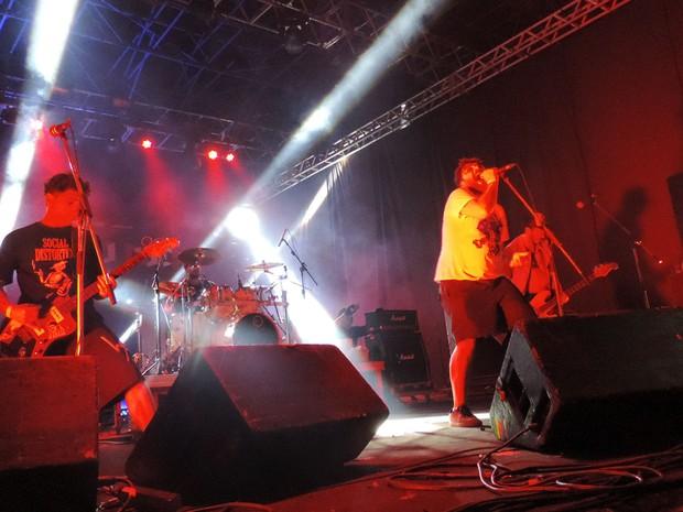 Mukeka di Rato, no Abril pro Rock (Foto: Katherine Coutinho / G1)