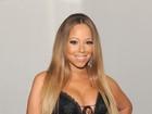 Mariah Carey ousa e usa vestido decotado para ir a prêmio