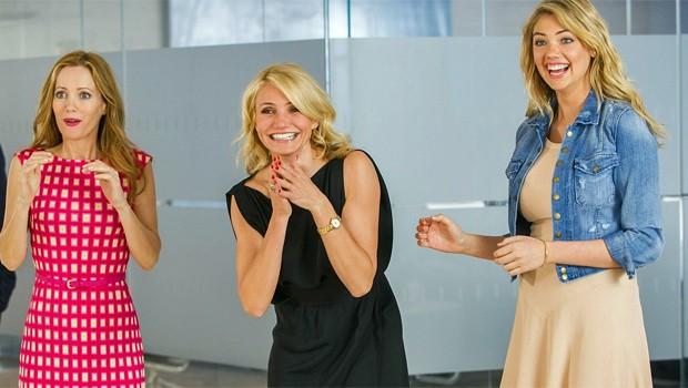 Leslie, Cameron e Kate em 'Mulheres ao Ataque' (Foto: reprodução/divulgação)