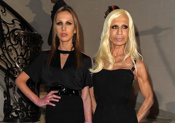 Allegra e Donatella Versace (Foto: Getty Images)