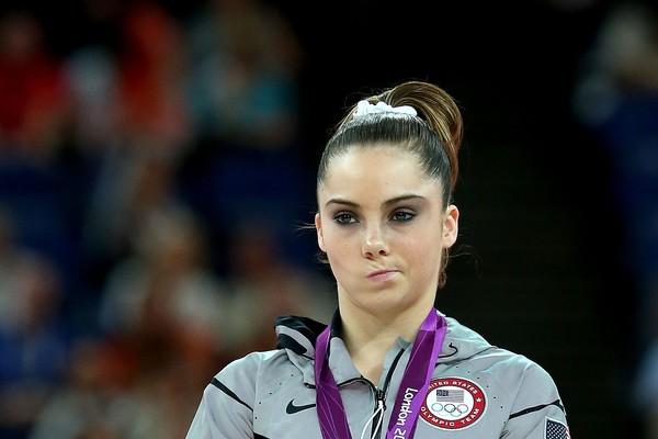 A ginasta McKayla Maroney decepcionada nas Olimpíadas de Londres (Foto: Getty Images)