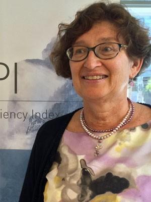 Beata Schmid, da EF Education First, veio ao Brasil para a divulgação do EPI 2014 (Foto: Divulgação/EF Education First)