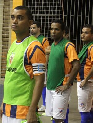Leonardo Silva, técnico do Tiradentes-PI (Foto: Josiel Martins )