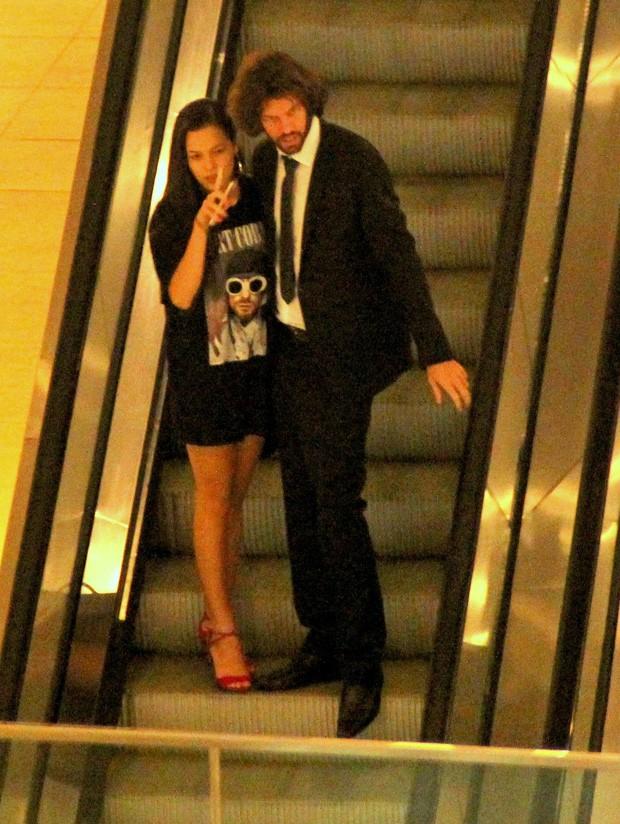 Mayla Araújo e o namorado (Foto: J. Humberto/AgNews)