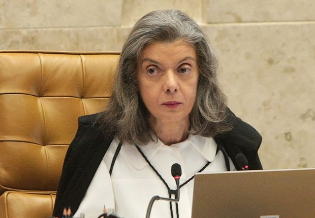 A presidente do STF Cármen Lúcia durante sessão do Supremo (Foto: Fabio Rodrigues Pozzebom/Agência Brasil)