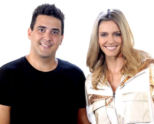 André Marques e Fernanda Lima (Foto: SuperStar/TV Globo)