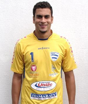Vinícius Gandra é o novo goleiro do CSA (Foto: Divulgação/ Site Oficial do Nacional-PR)