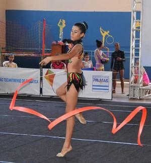 Ginastas representam o Tocantins em torneio nacional (Foto: Irene Alves/Divulgação)