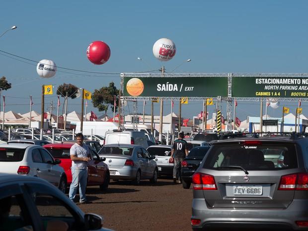 Sexta-feira (1º) - Último dia da feira deve reunir maior público em Ribeirão Preto, SP (Foto: Érico Andrade/G1)