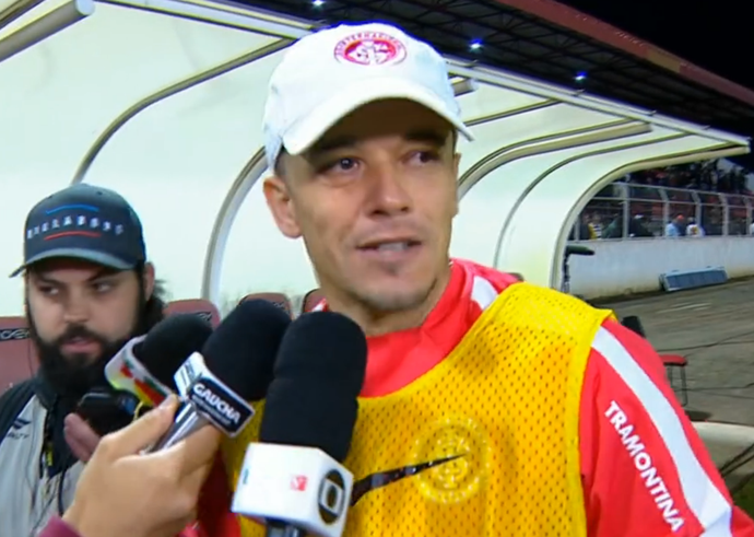 dalessandro d'alessandro inter internacional ituano grêmio copa do brasil (Foto: Reprodução/SporTV)