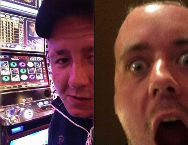 Daniel Hutchinson e Benjamin Robinson tiravam selfies durante o crime (Foto: North Yorkshire Police)