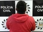Preso suspeito de assalto e tiroteio  (Polícia Civil/Divulgação)