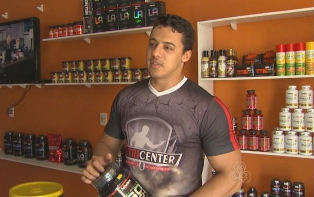 Insatisfeito com o corpo, empresário decide mudar de vida (Foto: Roraima TV)