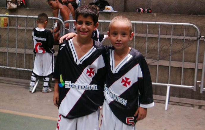felipe vasco filhos (Foto: Divulgação/Vasco da Gama)