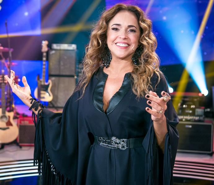 Daniela Mercury revela segredos do seu cabelo cacheado (Foto: Isabella Pinheiro / Gshow)