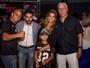 Kelly Key, José Loreto e outros famosos assistem a luta de MMA