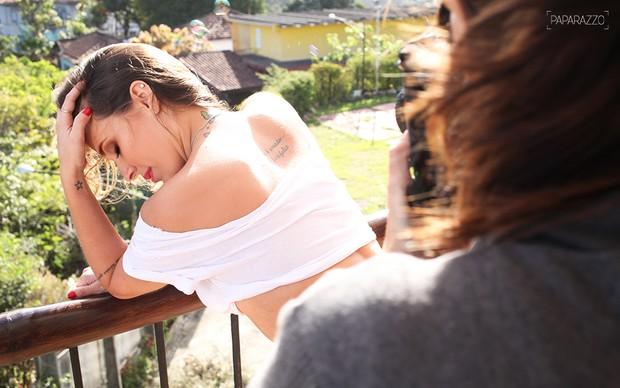 Making of - Angelis Borges posa para o Paparazzo (Foto: Marcio Nunes / Paparazzo)