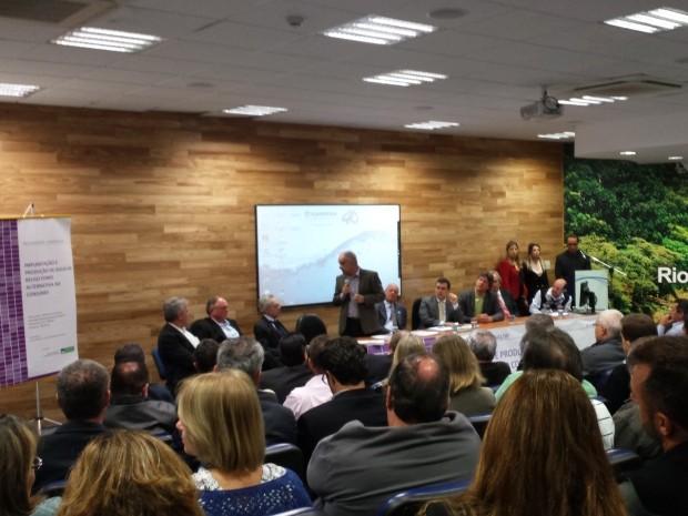 Vicente Andreu participou de reunião na Sanasa, em Campinas (Foto: G1 Campinas)