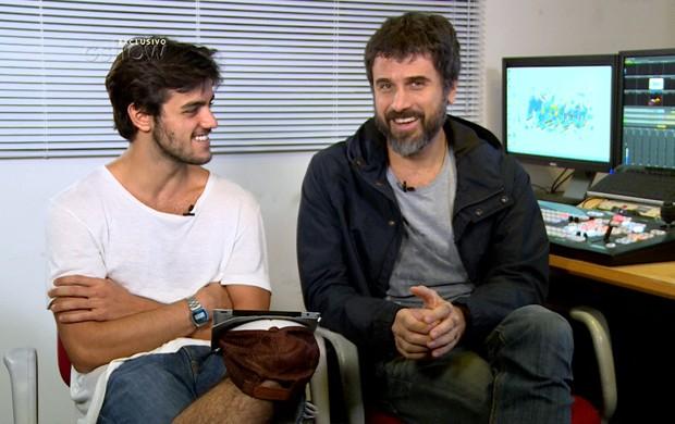 A dupla relembrou cenas marcantes da trama de Malhação (Foto: Gshow)