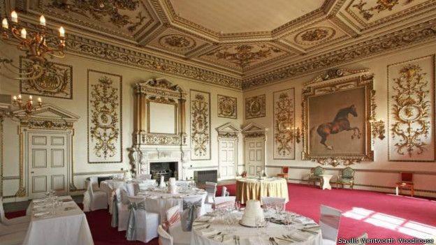Imóvel tem 2 vezes o tamanho do Palácio de Buckingham (Foto: Savills Wentworth Woodhouse)