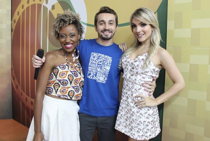 Priscila foi revelada pelo quadro 'Boto Fé', do 'Paneiro' (Foto: Katiúscia Monteiro/ Rede Amazônica)
