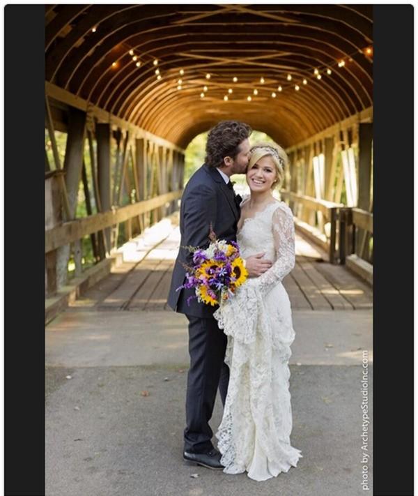 Kelly Clarkson e Brandon Blackstock (Foto: Twitter)