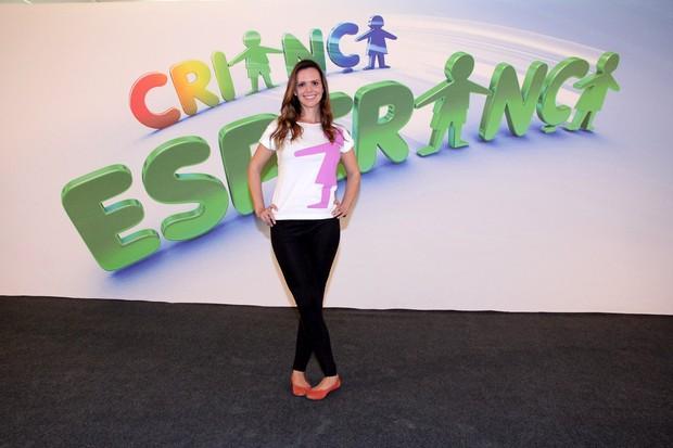 Viviane Victoretti no Criança Esperança (Foto: Alex Palarea/AgNews)