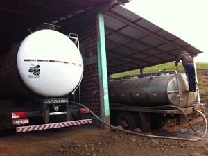 MP do RS dá início a nova fase da Operação leite Compensado (Foto: Felipe Truda/G1)