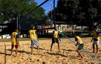 Surpresa no vôlei, alunos da rede pública vão aos Jogos da Juventude