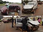 Acidente na BR-277 mata homem e deixa jovem e duas crianças feridas