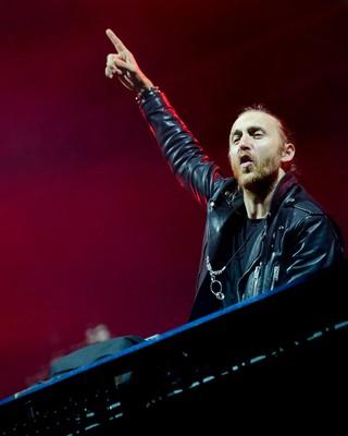 David Guetta (Foto: Flavio Moraes/G1)