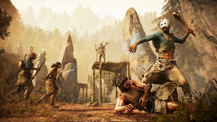 Far Cry Primal terá armas rústicas (Foto: Divulgação/Ubisoft)