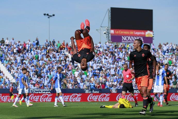 Nani gol Valencia Leganés (Foto: Getty Images)