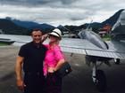 Val Marchiori lamenta morte de piloto em acidente aéreo em Paraty: 'Triste'