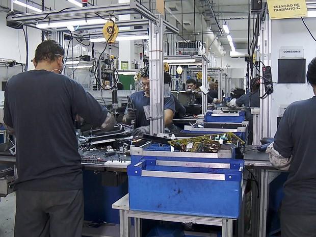 Queda da produção na industria (Foto: GNews)