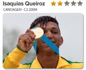 Peso do Ouro Isaquias Queiroz, canoagem 2 (Foto: GloboEsporte.com)