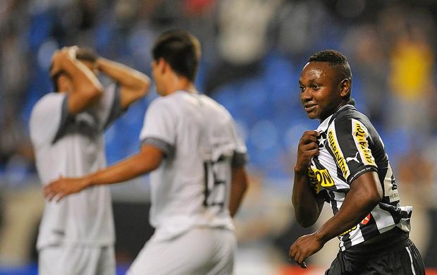 Sassá comemora gol Botafogo contra o Resende (Foto: Fernando Soutello / Agif)