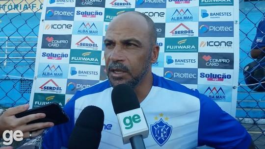 Mesmo com empate, Fábio Henrique avalia bem o jogo-treino com o Santão