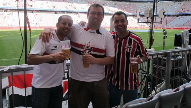 torcedores São Paulo Allianz Arena (Foto: Carlos Augusto Ferrari)