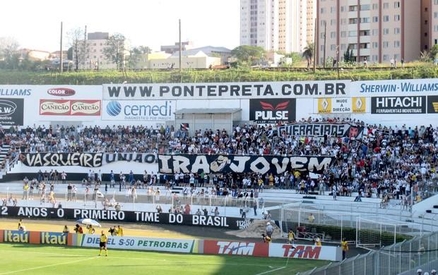 torcida vasco ponte preta campinas (Foto: André Casado / Globoesporte.com)