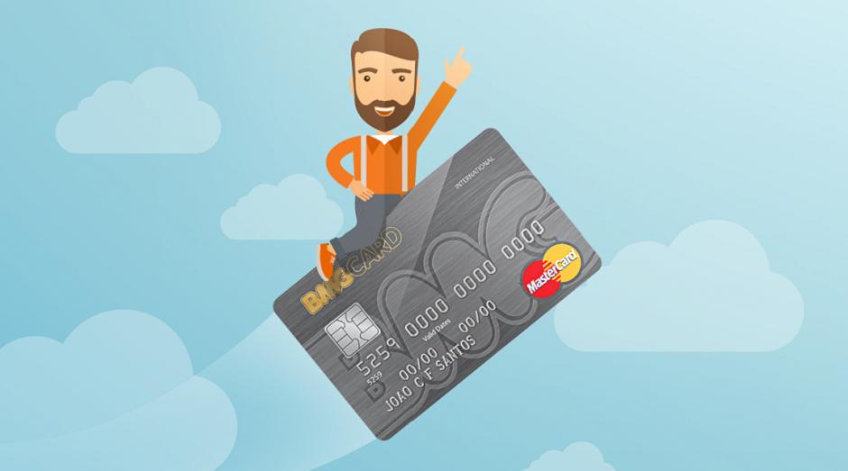 Cartão de crédito do banco BMG (Foto: Divulgação)