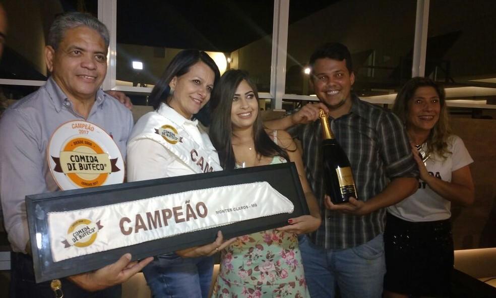 Bar Kina do Caipirão venceu o Comida di Buteco (Foto: Juliana Peixoto/ G1)