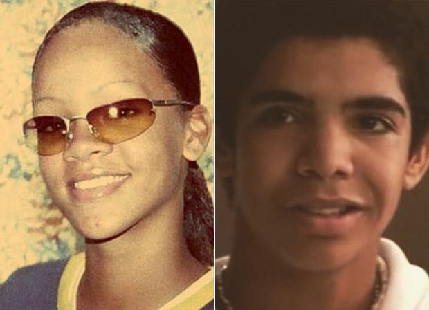 Rihanna e Drake (Foto: Reprodução)