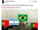 Brasileiros 'brigam' com a Argentina na #SegundaGuerraMemeal